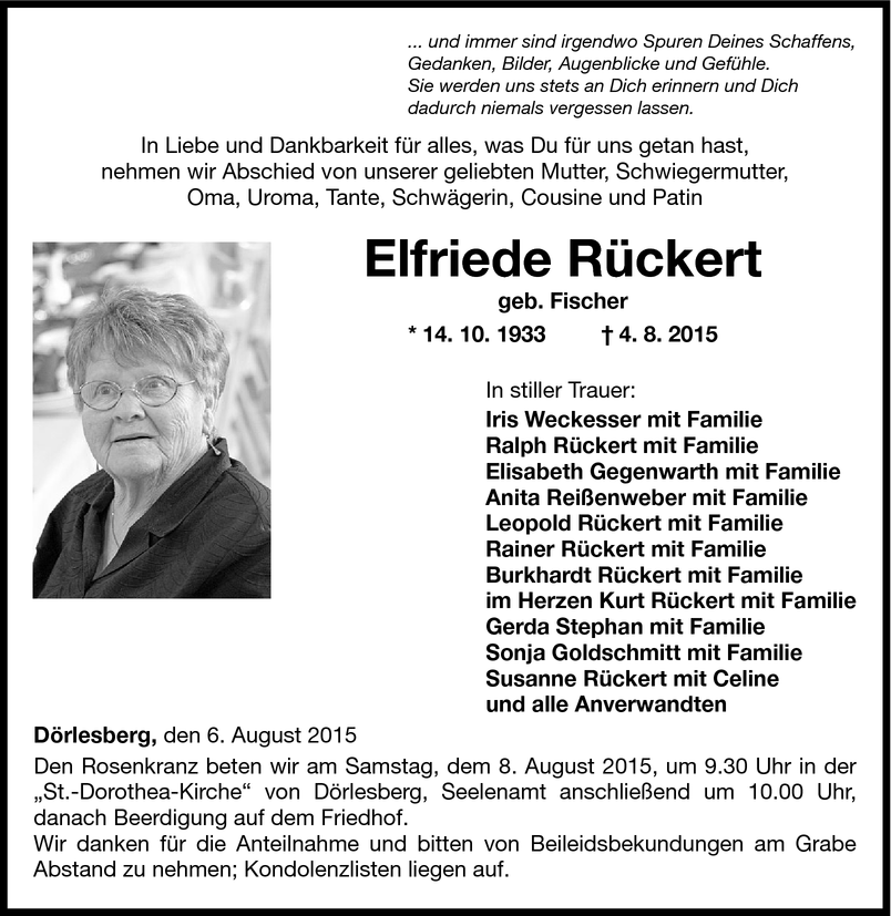 Elfriede Rückert